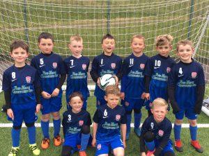 Sunderland City Juniors home kit 17.18